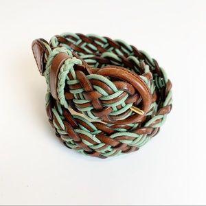BOGO 🎈Talbots braided woven leather belt